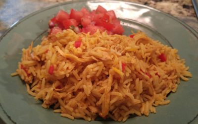 Fast & Deliciously Simple, Gluten Free Chicken & Yellow Rice by Kay Kasser