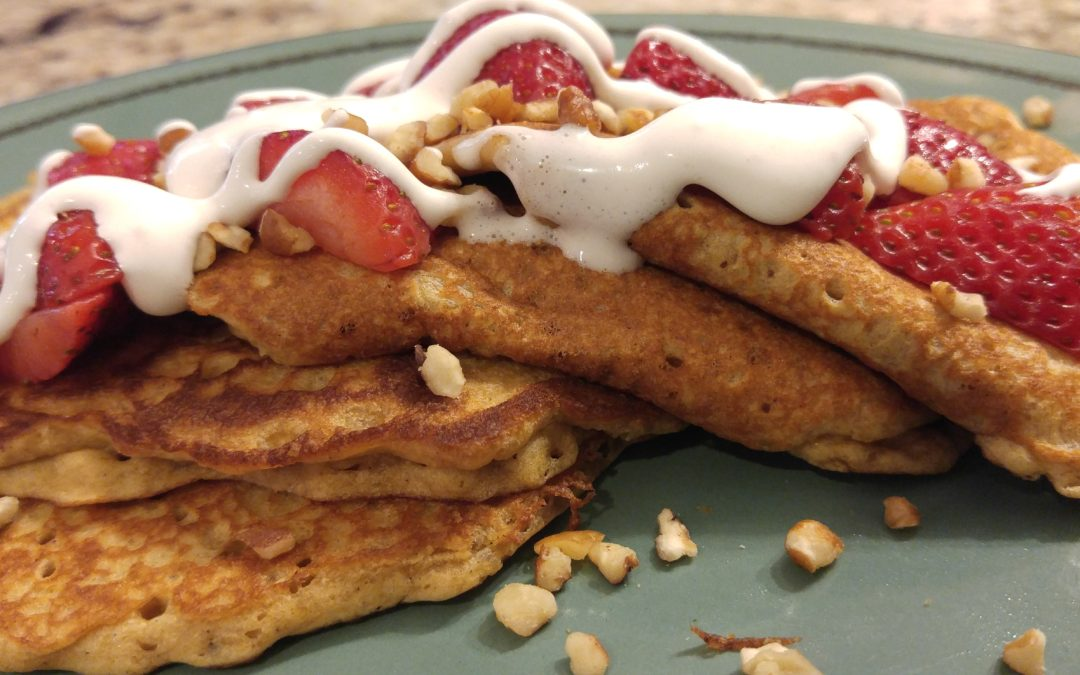 Deliciously Simple Fluffy Gluten Free Pancakes